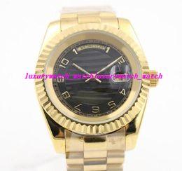 $enCountryForm.capitalKeyWord Australia - Luxury Wristwatch Fashion Automatic movement 18k Gold Stainless Steel Bracelet Watch 40mm High quality Men Watch