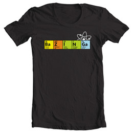 $enCountryForm.capitalKeyWord Australia - Big Bang Theory inspired 'BAZINGA' Sheldon Cooper catchphrase T Shirt 100% Cotton Short Sleeve O-Neck T Shirt Top Tee Basic
