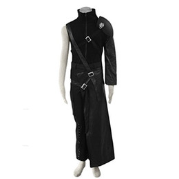 China Anime Final Fantasy VII Cosplay Costume - Cloud Strife Outfit suppliers