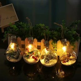 $enCountryForm.capitalKeyWord Australia - Christmas Decorative Night Lights LED Bulb Light DIY Christmas Tree Holiday Hanging Ball Lights Pendant Home Garden Ornaments