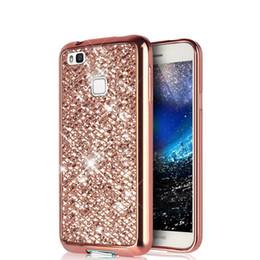 fa9ac66aae1a4 Glitter Bling Soft Back Cover Case For Huawei Honor 5A 8 Lite P8 P9 P10 P20  Lite 2017 Y5 II 2 Y6 II 2 Compact CUN L21 U29 Case
