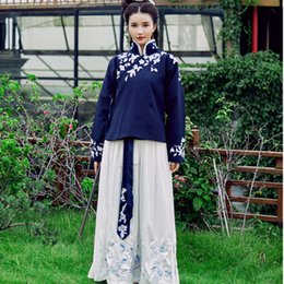 hanfu dance costume winter outfit women cloak qing dynasty costume chinese