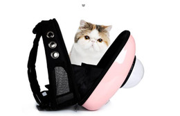 $enCountryForm.capitalKeyWord NZ - Pet space backpack, portable pet bag, ventilated cat bag, dog pack, pet supplies.