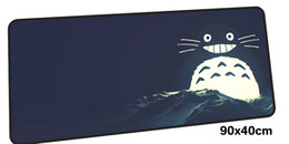 China Totoro mousepad gamer 900x400X3MM gaming mouse pad large cool new notpc accessories laptop padmouse ergonomic mat cheap cool laptop accessories suppliers