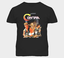 $enCountryForm.capitalKeyWord NZ - Contra Nes Classic Video Game Box Art T Shirt