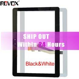 NOUVEAU Digitizer à écran tactile pour Samsung Galaxy Tab2 10.1 P5100 P5110 Note N8000 N8010 Noir / Blanc Réparation Ecran Verre