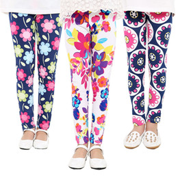 71a84d5f16cab Bohemian leggings online shopping - 2018 new children colors Leggings Baby  girls Warmer Tights kids Flowers