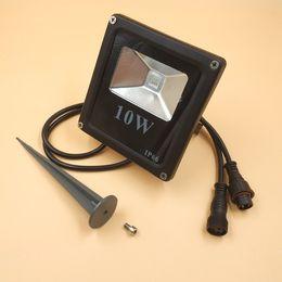 Toptan satış 5 adet Akıllı 10 W LED Sel Işık WS2811 Kontrollü IP66 aksesuarları ile Su Geçirmez ve 13.5mm / 18.5mm / xconnect konnektörleri
