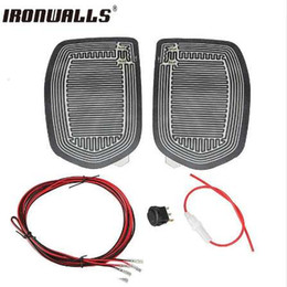 $enCountryForm.capitalKeyWord Canada - Ironwalls Universal New Quick Warm 12V Car Side Mirror Glass Heat Heated Heater Defogger Pad Mat For Vehicles Cars Accessories