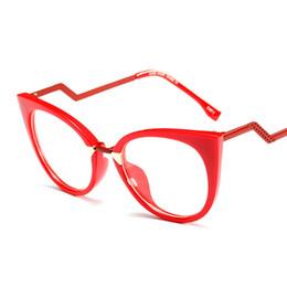 $enCountryForm.capitalKeyWord UK - Ladies Sexy Cat Eye Glasses Frames For Women GORGEOUS Brand Designer Optical EyeGlasses Fashion Eyewear Retro glass
