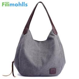 Cute Canvas Handbags Australia - 2018 Hot Fashion Women's Handbag Cute Girl Tote Bag Lady Canvas Hobos Shoulder Bag Female Large Capacity Small Leisure Bag S1148