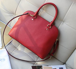 Discount manufacturer laptop PU leather, 2018 new European and American fashion shells handbag manufacturers selling high quality single shoulder bag