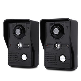 $enCountryForm.capitalKeyWord UK - SY813MKB21 7 inch Video Door Phone Doorbell Intercom Kit 2 camera 1 monitor for home security
