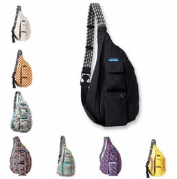 34 colores Unisex deportes al aire libre del paquete del pecho de la lona del hombro ajustable de la correa del hombro Bolsas Big Kids Bags 10pcs