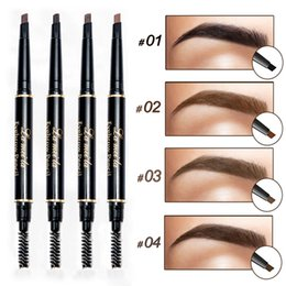 Discount new brand cosmetics - New Brand Eye Brow Tint Natural Long Lasting Paint Tattoo Eyebrow Waterproof Black Brown Eyebrow Pencil Cosmetics Makeup