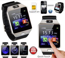 Bluetooth Smart Watch Sim Australia - DZ09 Smart Watch Bluetooth Smartwatches Dz09 Smart watches with Camera SIM Card For Android Smartphone SIM Intelligent watch in Retail Box