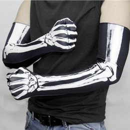$enCountryForm.capitalKeyWord NZ - Halloween Skull Claw Bone Skeleton Goth Racing Full Gloves