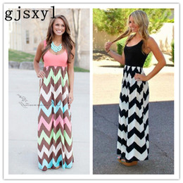 f3ba05345f33f Gjsxyl 2018 new fashion summer women's bohemian striped long dress  maternity dress pregnant women dress
