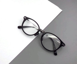 bb166dfc2d254f Nerd Frames UK - High quality Round glass frame Fashion Men Women Retro Nerd  Glasses Clear
