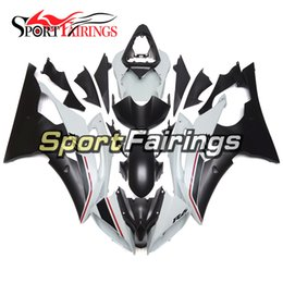 Complete Fairing Kits Yamaha Australia - Complete Motorcycle Fairing Kit For Yamaha YZF600 R6 YZF-R6 2008 - 2016 09 12 14 15 16 Injection ABS Plastic Motorcycle Bodywork White Black