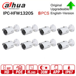 $enCountryForm.capitalKeyWord UK - DaHua IP Camera IPC-HFW1320S 8Pcs lot 3MP POE Mini CCTV Camera IP67 Waterproof Security via fast Express shipping