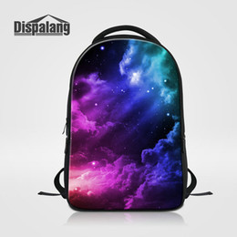 $enCountryForm.capitalKeyWord Canada - Personality Galaxy Women's Backpack School For Girls Universe Space Printed Schoolbags Bookbags For Teens Mochila Rugzak Laptop Bags For Men