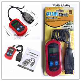 scan tool code reader Canada - MS300 Code Reader Autel MaxiScan® MS300 Can OBD2 OBDII Scan Tool MaxiScan MS 300 Code Scanner Check Engine Light Reset Tool