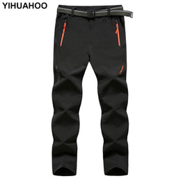 YIHUAHOO Brand Men's  Thin Pants Tactical Trousers Waterproof Casual Qui-Dry & Light Mountain Pants For Men XYN-9916