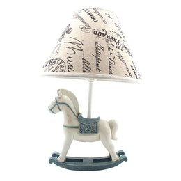 $enCountryForm.capitalKeyWord UK - OOVOV Cartoon Trojans Baby Room Desk Lamp Vintage Kids Bedroom Table Lamps Boy Girl Room Desk Light