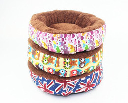 fall bedding UK - Fleece Small Pet Dog Bed Sleep Warm Teddy Cat Puppy Soft House Mat Fall Winter Warm Kennel Drop shipping