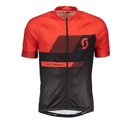scott cycle shirts 2019 - 2019 mens SCOTT Team cycling Jersey sunmmer quick dry short sleeve mtb bike clothing road bicycle shirt ropa ciclismo Y0
