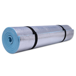Padded Gym Mats UK - 6mm Thick Durable EVA Yoga Mat Exercise Gym Fitness Workout Non-Slip Pad Camping