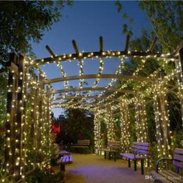 $enCountryForm.capitalKeyWord Australia - Solar Lamps LED String Lights 100 200 LEDS Outdoor Fairy Holiday Christmas Party Garlands Solar Lawn Garden Lights Waterproof