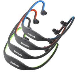$enCountryForm.capitalKeyWord Australia - wholesale Universal S9 Wireless Headphone Stereo Headset Sports Bluetooth Speaker Neckband Earphone Bluetooth 4.0 With Retail Package