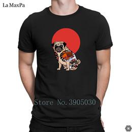 Divertido de malha Super Homens T-Shirt Yakuza Pug Camisa Dos Homens T Grande Tamanhos Tshirt Para Homens Kawaii Primavera Outono Camiseta Pop Top Tee venda por atacado