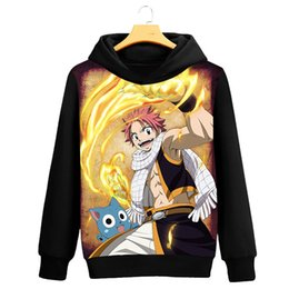 $enCountryForm.capitalKeyWord Canada - Autumn Spring For Women Men Unisex Fairy Tail 3D Print Hooded Hoodies Sweatshirts Preppy Casual Loose Pullover Tops