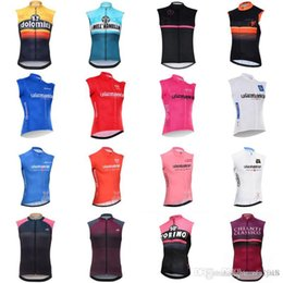 Discount vest team cycling - 2018 Tour de Italy Pro Men Team Cycling Sleeveless Jersey Bicycle Vest Clothes Bicycle Sportwear mtb bike clothing maill