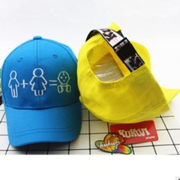 12abab0442d New Cotton Happy Family Children Baseball Hat Fashion Cute Boy Girl Snapback  Cap Summer Kids Peaked Cap Adjustable