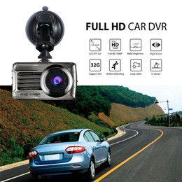 camera rearview mirror full hd UK - 3.0 inches night vision car DVR 2Ch driving recorder auto registrator dashcam full HD 1080P front 170 degrees rear 120° G-sensor WDR