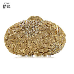 Crystal Pearl Evening Bags Canada - Luxury Clutch party evening bags women crystal pearl pochee soiree purse wedding Crystal Beaded pouch bag gold silver
