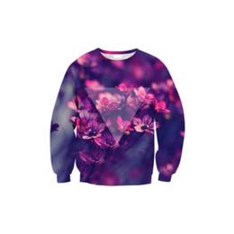 $enCountryForm.capitalKeyWord UK - Women Sweatshirt Plum Blossom Triangle 3D Full Print Girl Free Size Stretchy Casual Hoodies Lady Long Sleeves Tops Sweatshirts (RLSws0221)
