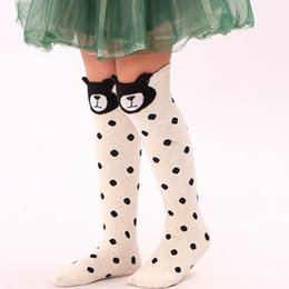 f8e164865 Cartoon Cute Kids Socks Print Animal Cotton Baby Kids Socks Knee High Long  Fox Toddler Girl Clothing Accessories