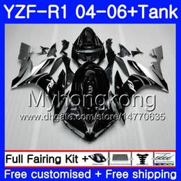 $enCountryForm.capitalKeyWord Australia - Body+Tank For YAMAHA YZF R 1 YZF-1000 YZF 1000 YZFR1 04 05 06 232HM.18 YZF1000 Silver flames hot YZF-R1 04 06 YZF R1 2004 2005 2006 Fairing