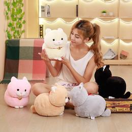 $enCountryForm.capitalKeyWord NZ - Lovely Fat Fortune Cat Short Plush Toy Stuffed Animal Plush Doll Send to Children Toy 30cm