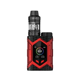 $enCountryForm.capitalKeyWord UK - Original E Cigarette Vaptio Wall Crawler 80W 2.0ml Vape FROGMAN TANK 5.0ML RDA RDTA Vape Firmware Upgradeable Vapor