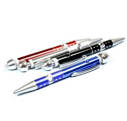 smoking pen pipe UK - A new model of ballpoint pen cigarette smoking cigarette portable pipe