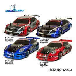 Wholesale hsp rc car toys drift car scale flying fish x4 on road electric powered brushed motor battery included item no