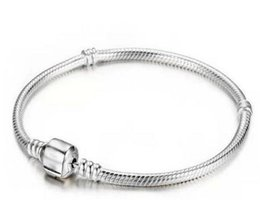 $enCountryForm.capitalKeyWord NZ - Hot sell Unisex High-quality three-layer thick silver plating Snake chain Collocation Beads Maintain color bracelet