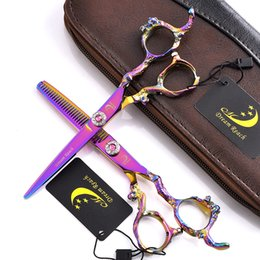 Barber Hot Shears Australia - 2018 Hot 6.0 Inch Hairdressing Scissors Barber Hair Cutting Shears Hairdresser Equipment Tool With High Quality