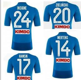 Discount jersey naples - 18-19 New Napoli Home Naples Soccer Jersey,mens Customized 17 HAMSIK 24 INSIGNE 14 MERTENS 8 JORGINHO Thai Quality Socce